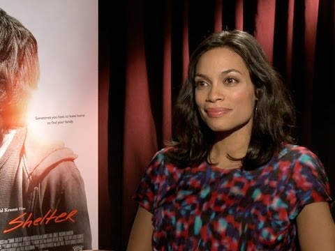 Rosario Dawson Talks 'Gimme Shelter'