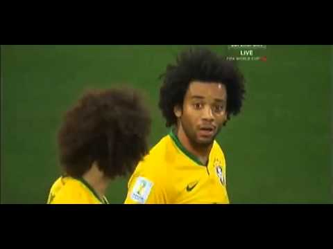Marcelo Vieira Own goal football world cup opening  Brazil 0   1 Croatia 12 06 2014