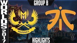 GAM vs FNC Highlights | 2017 World Championship Week 2 Worlds 2017 | Gigabyte Marines vs Fnatic