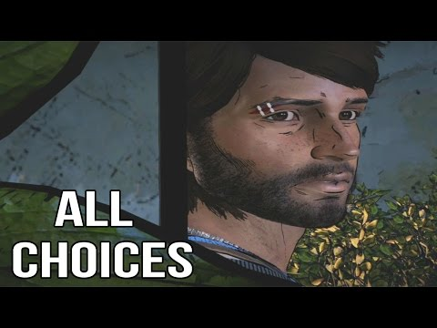 The Walking Dead Game Season 3 Episode 2 - All Choices/ Alternative Choices and Endings