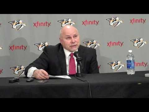 Barry Trotz - Post Game - Nashville Predators vs Anaheim Ducks