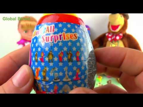Bóc trứng Cô Bé Siêu Quậy và Chú Gấu Xiếc mới nhất, trò chơi em bé