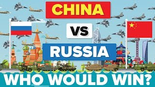 China vs Russia - Who Would Win? - Army / Military Comparison