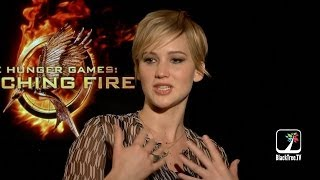 THE HUNGER GAMES CATCHING FIRE Jennifer Lawrence And Josh