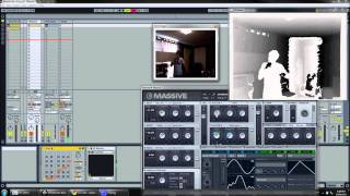 Dubstep Bassline Using Kinect (Function Demo)