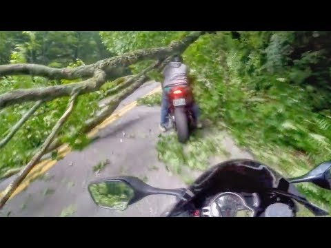 Crazy, Funny & Hectic Motorcycle Encounters & Kind Bikers 2019
