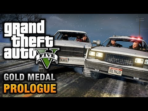GTA 5 - Prologue [100% Gold Medal Walkthrough],