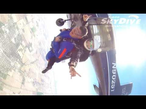 Paul Harlow's Tandem skydive!