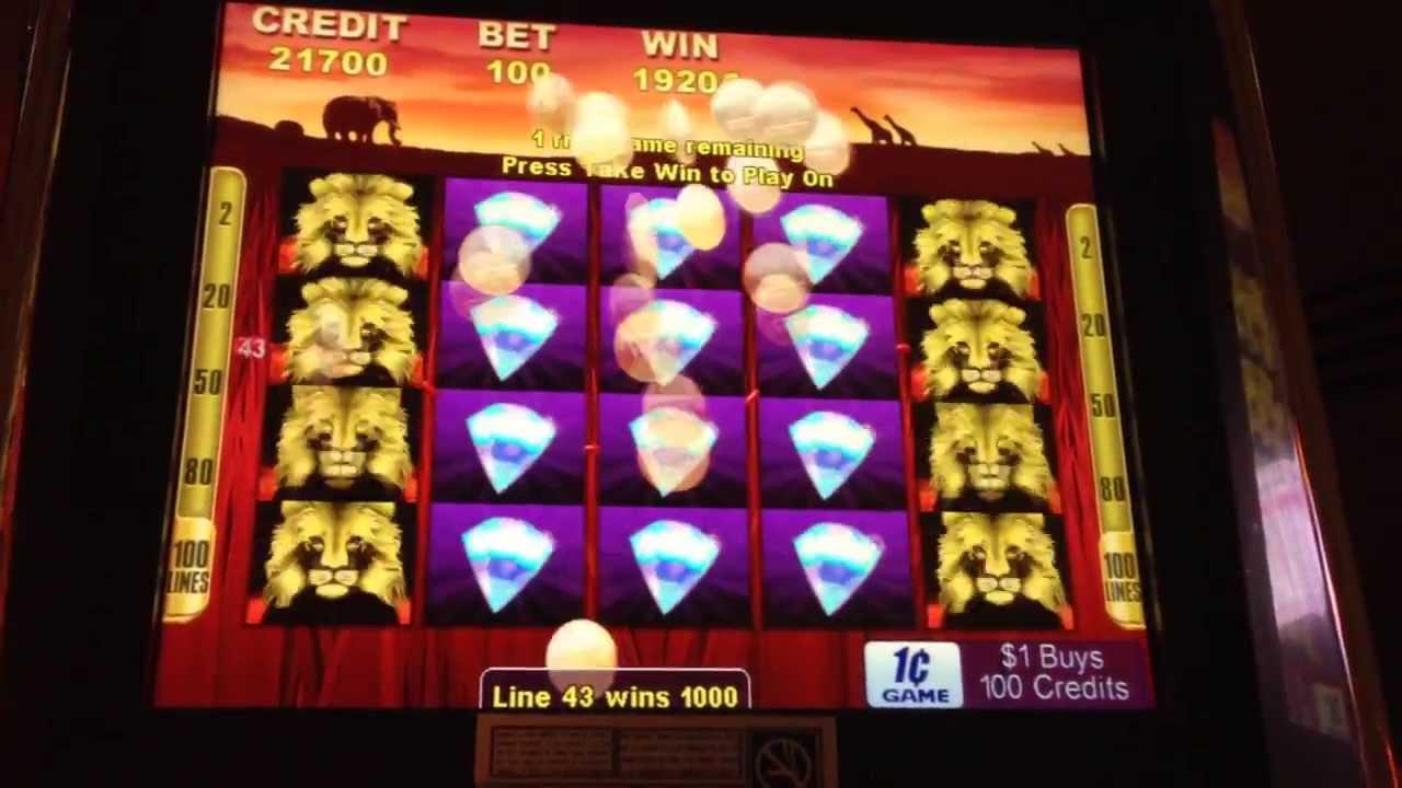 100 lions slot machine app