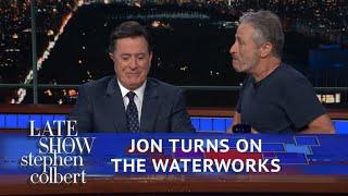 Jon Stewart Reveals Stephen's Prize In 'Night Of Too Many Stars'