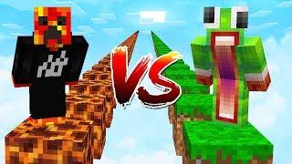 PRESTONPLAYZ vs UNSPEAKABLEGAMING! (1v1 Minecraft Parkour Race)