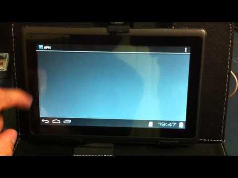 Configurar Data Card en tablet 1