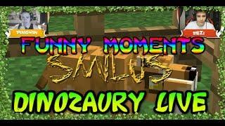 """Funny  Skrót Z """"DINOZAURY LIVE"""" /w ReZi I Pingwin"""