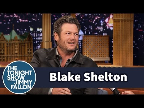 Blake Shelton Teaches Jimmy How to Treat His Truck