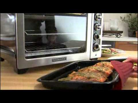12 inch Convection Bake Countertop Oven KitchenAid - YouTube