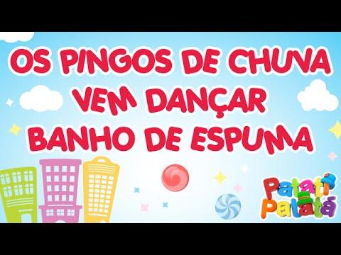 Os Pingos da Chuva / Vem Dançar / Banho de Espuma - Patati Patatá (DVD Na Cidade dos Sonhos)