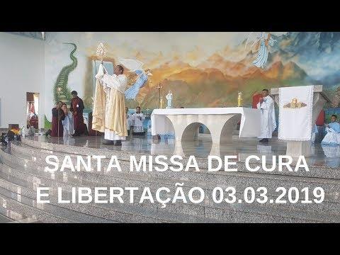 Santa Missa de Cura e Libertação | 03.03.2019 | Padre Paulo Sérgio Mendes |ANSPAZ