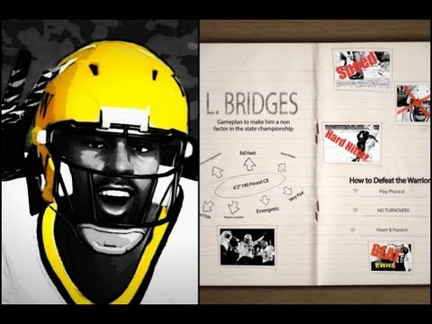 NCAA Football 13 Road to Glory: Game Planning for a Hard Hitting CB | HS State Championship Trailer