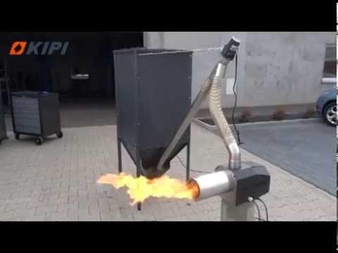 Palnik na pellet Rot Power 5 -36 kW - na paliwo agropellet wyposażony w rotacyjną komorę spalania