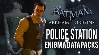 Batman Arkham Origins Police Station All Enigma