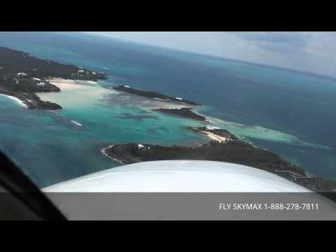 Approach to Landing at Scotland Cay Bahamas