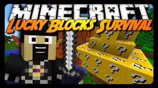 Minecraft: LUCKY BLOCKS SURVIVAL! (Superflat Concept)