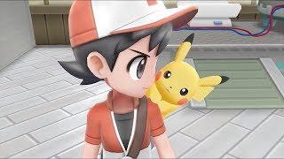 Pokemon Let's Go Pikachu and Pokemon Let's Go Eevee - Announcement Trailer (Japanese)