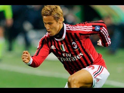 Keisuke Honda Welcome to AC Milan Skills & Goals