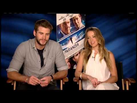 RAW: Liam Hemsworth Teases Co-star Amber Heard about ZBB