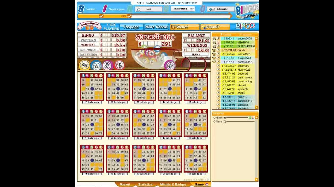 game point bingo