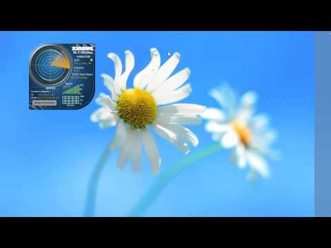 Monitor WiFi Status with Xirrus Wi-Fi Monitor Windows 7 Desktop Gadget