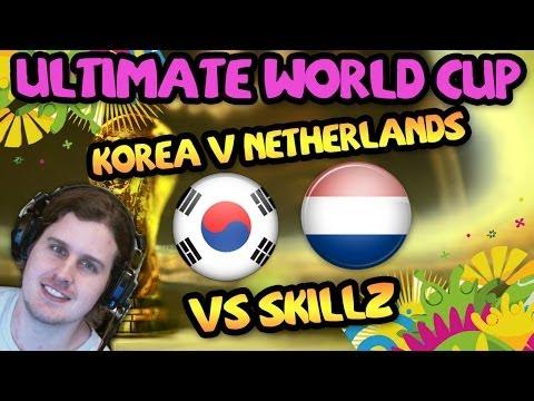 KOREA V NETHERLANDS ULTIMATE WORLD CUP | FIFA 14 ULTIMATE TEAM
