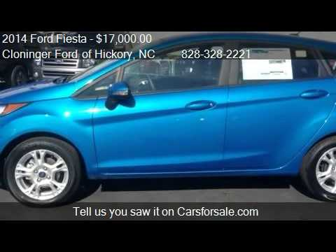 2014 Ford Fiesta SE - for sale in Hickory, NC 28602