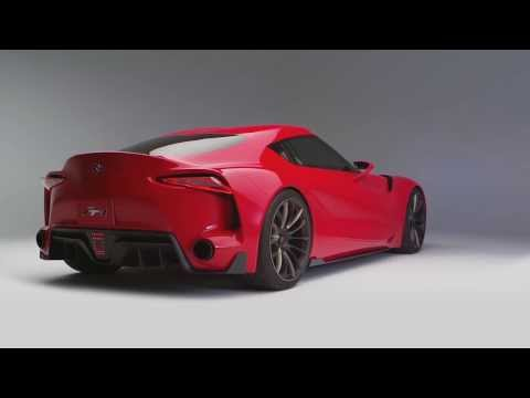 2014 NAIAS - Toyota FT-1 - sports-car concept