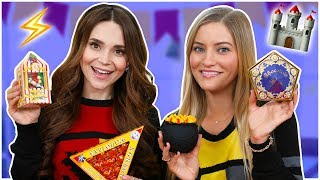 TRYING FUN HARRY POTTER CANDY w/ iJustine!