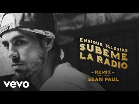 Enrique Iglesias  SUBEME LA RADIO REMIX Lyric Video ft Sean Paul