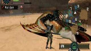 Monster Hunter Freedom 2 Plesioth