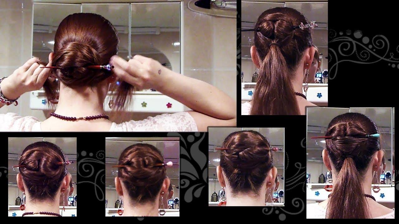 Tutorial asian hair style