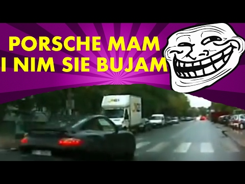Poje**ni kierowcy (Warszawa) sieją postrach na ulicy