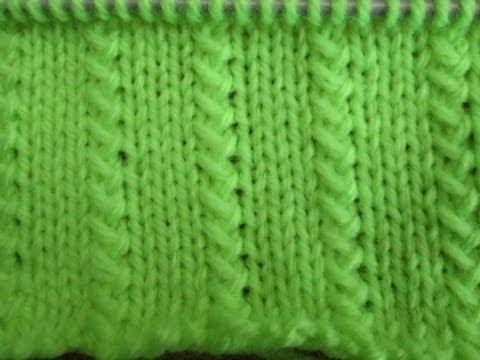 D i y tuto tricot apprendre a tricoter le point graminees - Point de cote tricot ...