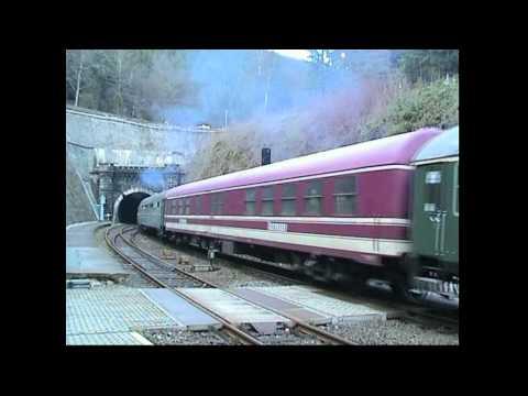 232 mit Müller-Sonderzügen EuroExpress in Thüringen 1998 bis 2002 (Neufassung)