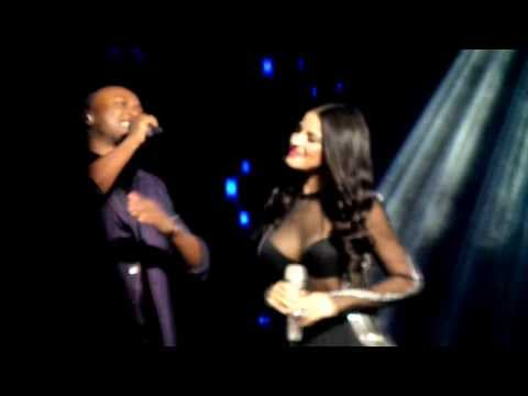 Maite Perroni e Thiaguinho cantando Inexplicable - São Paulo (22.11)