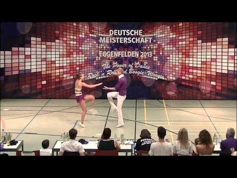 Anna Schramm & Sebastian Schramm - Deutsche Meisterschaft 2013