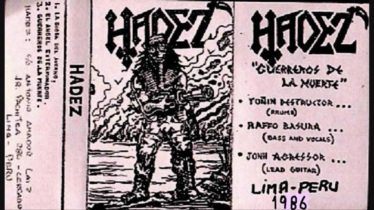 Hadez - Guerreros De La Muerte