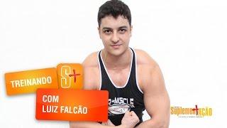 Treino de pernas com Luiz Falcão
