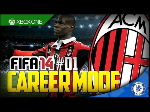 FIFA 14 XB1 | AC Milan Career Mode Ep1 - A FRESH CHALLENGE