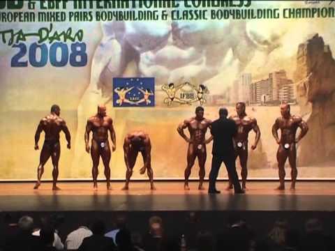 Campeonato de Europa Senior IFBB 2008 - Playa de Aro