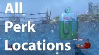 All Perk Locations On Origins Juggernog, Speed Cola