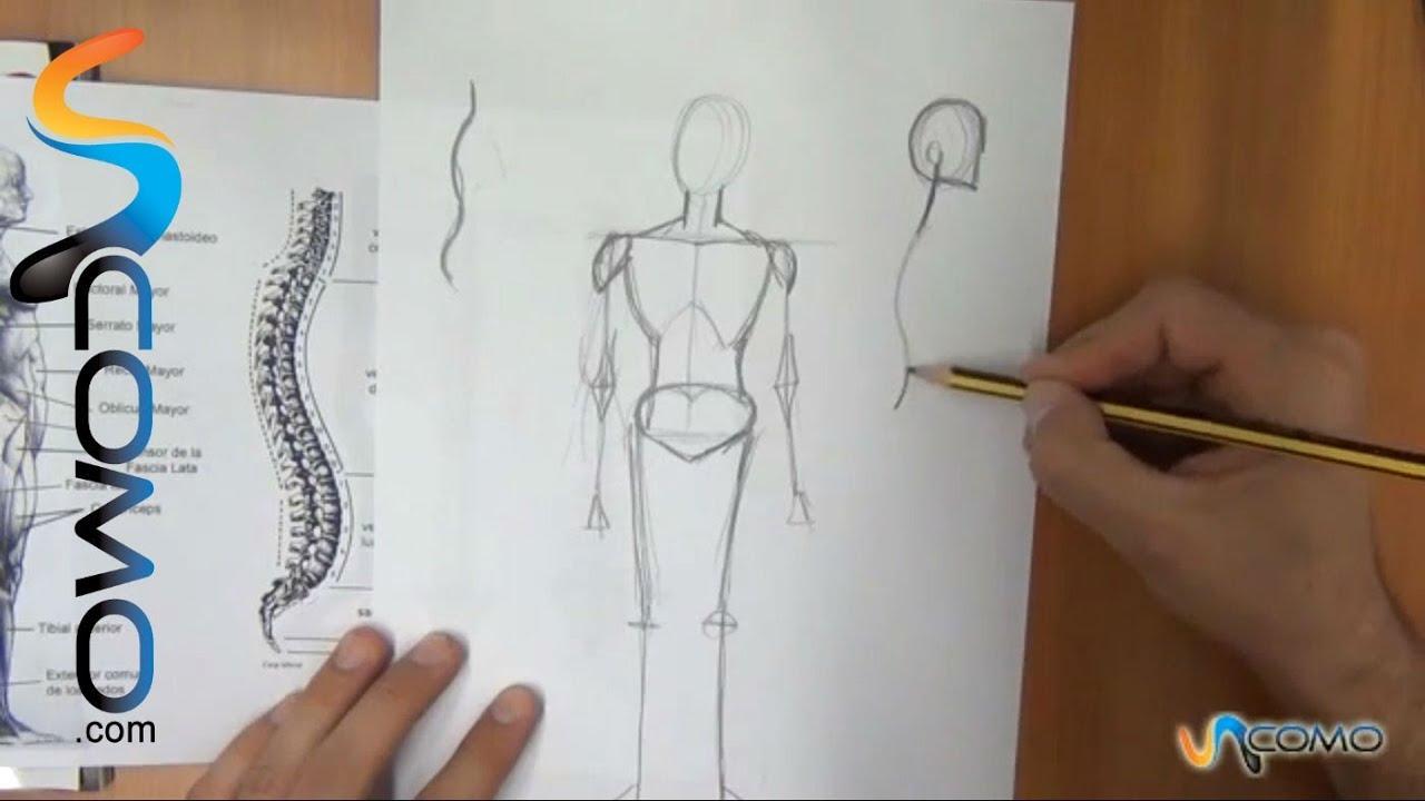 Dibujar distintas posturas del cuerpo humano (3º parte