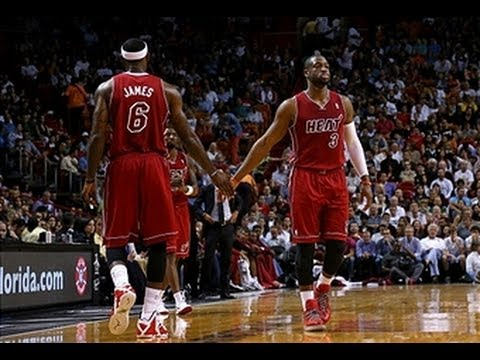 LeBron James and Dwyane Wade Too Hot for the Suns